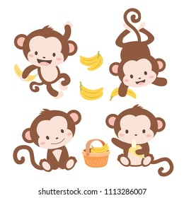 Cute Little Monkeys