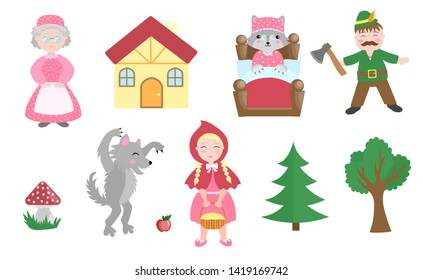 Little Red Riding Hood Images Stock Photos Vectors Shutterstock