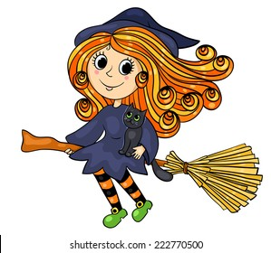 Cartoon Witch Images, Stock Photos & Vectors