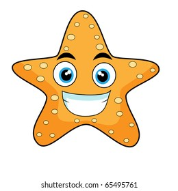 cute looking starfish