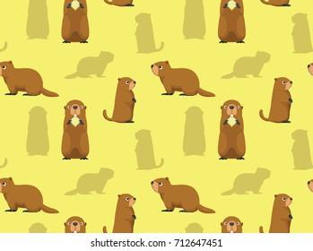 Cute Marmot Wallpaper