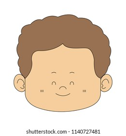 Cute midget man face