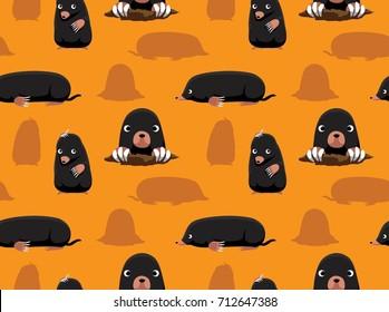 Cute Mole Wallpaper