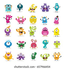 Cute Monster Set