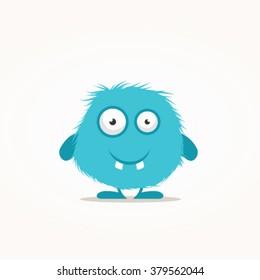 Cute monster vector illustration