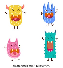 cute moster for kids vector illustration