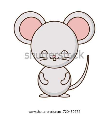Cute Mouse Icon Stock Vector (Royalty Free) 720450772 - Shutterstock
