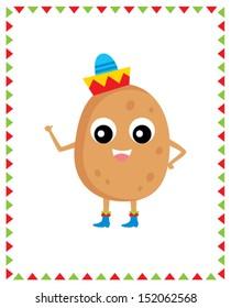 cute mr potato