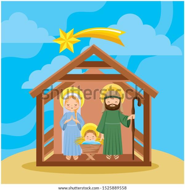 Free Nativity Scene Clip Art with No Background - ClipartKey