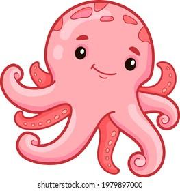 Octopus Clipart Vector Stock Vectors Images Vector Art Shutterstock