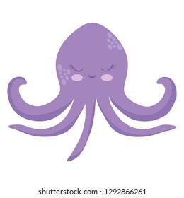 cute octupus icon