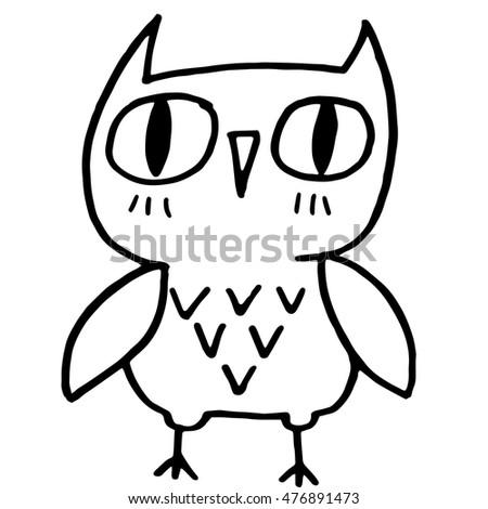 Cute Owl Drawings