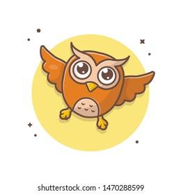 Owl Landing Stock Illustrations Images Vectors Shutterstock