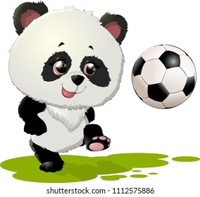 Cute Panda bear illustration