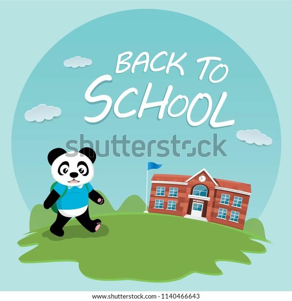Panda School Stock Illustrations – 1,397 Panda School Stock Illustrations,  Vectors & Clipart - Dreamstime