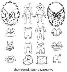 Imagenes Fotos De Stock Y Vectores Sobre Cut Out Paper Dolls