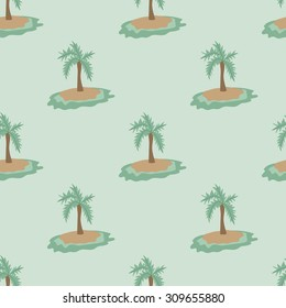 Cute pattern with palms