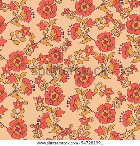 cute pattern small flower elegant template stock vector royalty