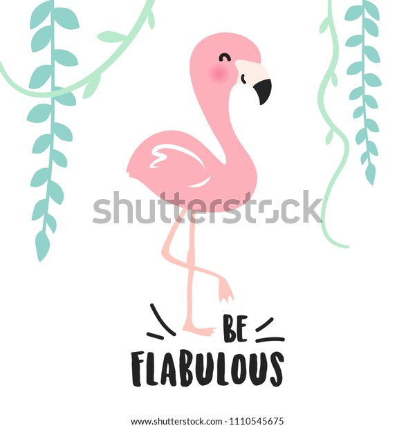 Vector De Stock Libre De Regalías Sobre Cute Pink Cartoon