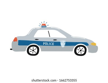 Cartoon Police Car Hd Stock Images Shutterstock