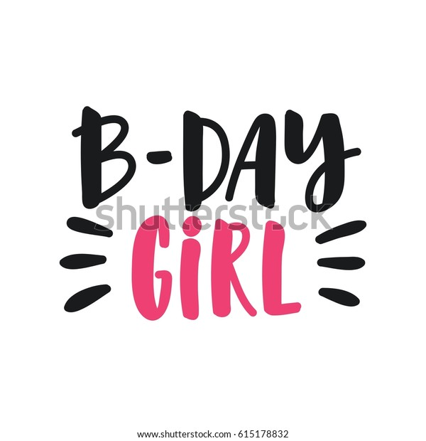 graphic regarding Happy Birthday Printable Sign named Adorable Print Lettering Delighted Birthday Bday Inventory Vector