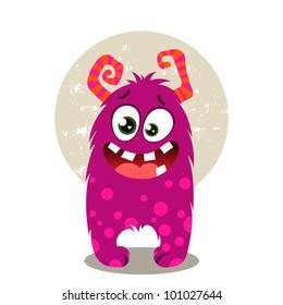 Cute Purple Monster