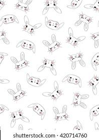 Cute Rabbits Pattern