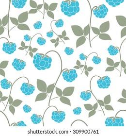 Cute raspberry pattern