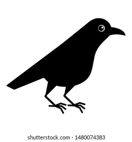 Flying Crow Drawing For Kids Images Stock Photos Vectors Shutterstock