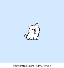 Samoyed Dog Stock Illustrations Images Vectors Shutterstock