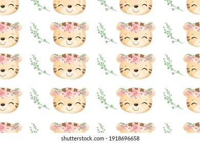 cute seamless pattern for decoration, kids wallpaper.