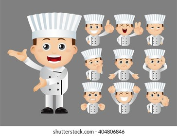 Cute Set - Set of chef