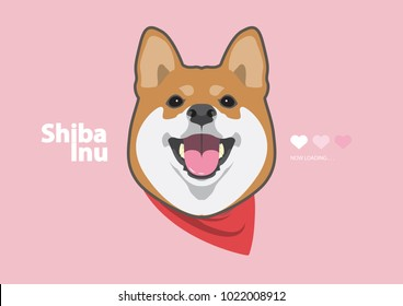 Cute Shiba Inu and His Smile