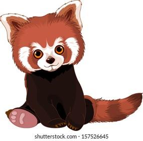 Cartoon Red Pandas Images Stock Photos Vectors Shutterstock