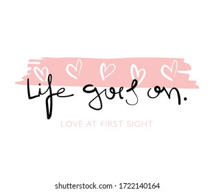 Cute slogan \ Vector illustration design for fashion graphics, t shirt prints, posters. stickers etc - Shutterstock ID 1722140164