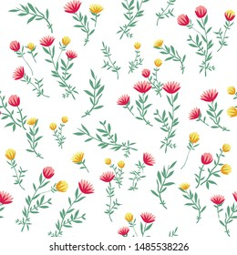 cute small floral flowers pattern