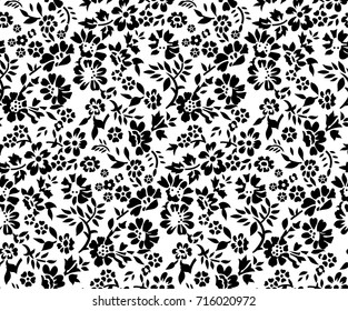 cute small floral pattern