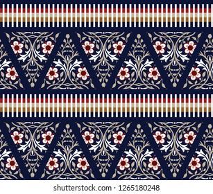 cute small seamless border pattern
