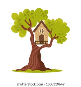Treehouse Cartoon Images Stock Photos Vectors Shutterstock Biotech house by alexandra semushina on artstation. https www shutterstock com image vector cute small treehouse one window vector 1580319649