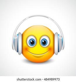 Headphones Emoji Images, Stock Photos & Vectors | Shutterstock