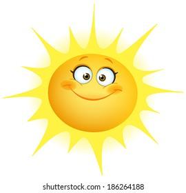 cartoon sun images stock photos vectors shutterstock rh shutterstock com cartoon pictures of sunny weather cartoon images of sunshine
