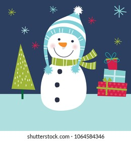 Cute Snowman Images Stock Photos Vectors Shutterstock