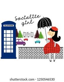 cute socialite girl