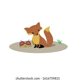 cute squirrel vector isolated chipmunk