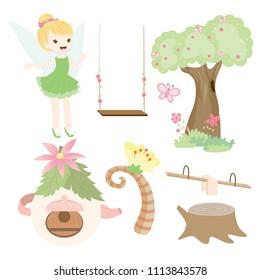 Cute tinkerbell Fairy