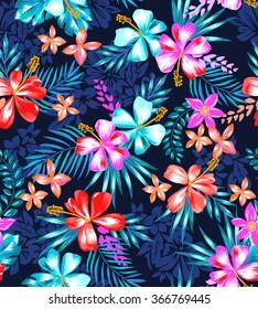 cute tropical design ~ seamless background