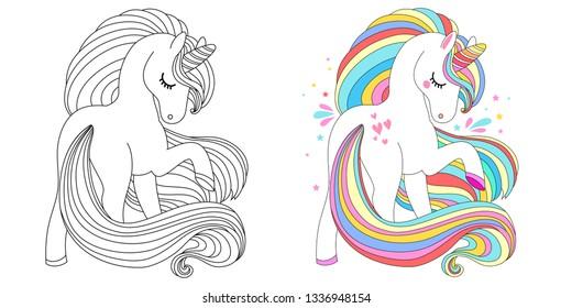 Ilustraciones Imágenes Y Vectores De Stock Sobre Unicornios