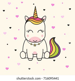 Child Unicorn Drawing Images Stock Photos Vectors Shutterstock