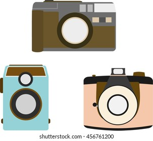 Cute Various Vintage Camera Collection