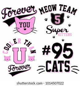 cute varsity graphic